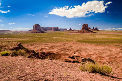 Artist Point on Monument Valley Royalty Free Stock Photo