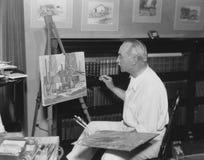 Artist in residence Stock Image