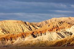 Artist& x27; s-Antrieb, Nationalpark Death Valley, Kalifornien, USA lizenzfreie stockfotos