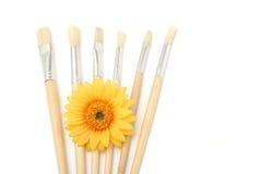 Artist's brush Stock Images