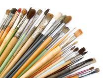 Artist's brushes stock photography