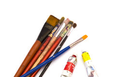 Artist's brushes Stock Image