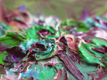 Artist's Colours.. Forms and colours - Background stock photos