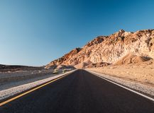 Artist`s Drive in Death Valley. National Park, California, USA Royalty Free Stock Photo