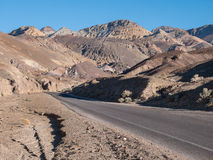 Artists Drive, Death Valley Stock Images