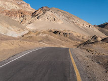 Artists Drive, Death Valley Stock Image