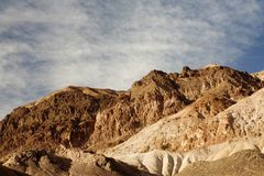 Artist's Drive, Death Valley N Stock Image