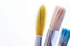 Artist's Paintbrushes Royalty Free Stock Photos