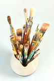 Artist's Paintbrushes stock images