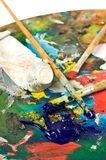 Artist's palette Royalty Free Stock Photo