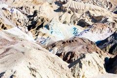 Artist& x27; s-Palette in Artist& x27; s-Antrieb, Nationalpark Death Valley stockfotografie