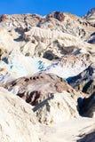 Artist& x27; s-Palette in Artist& x27; s-Antrieb, Nationalpark Death Valley stockbilder