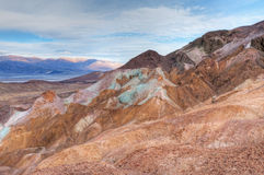 Artist's Palette, Death Valley Royalty Free Stock Image