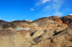 Artist's Palette in Death Valley royalty free stock photo