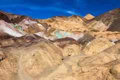 Artist's Palette in Death Valley stock image