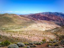 Artist`s Palette in Death Valley National Park, California, USA stock image