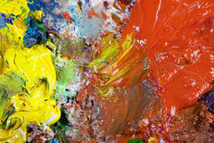An artist's palette Royalty Free Stock Image