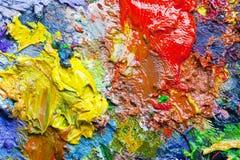 An artist's palette Stock Photo