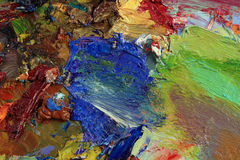 Artist's palette royalty free stock image