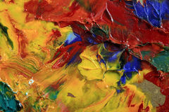 Artist's palette royalty free stock photography