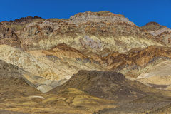 Artist`s Palette Rock Formation - Death Valley National Park, Ca stock photo