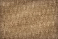 Artist's Primed Cotton Duck Canvas Reverse Side Crumpled Vignett Stock Image