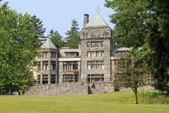 Artist's retreat,Yaddo Gardens,Saratoga Springs,New York,Summer 2013. Founded in 1900,Yaddo Gardens is an artist's community retreat, available to many different Royalty Free Stock Images
