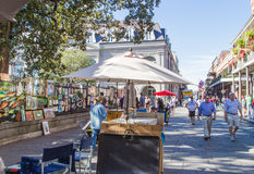 Artist's Square New Orleans Royalty Free Stock Image