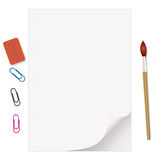 Artist's supplies Royalty Free Stock Photo