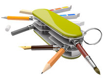 Artist`s toolkit_1 Stock Images