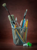 Artist`s tools Royalty Free Stock Photo