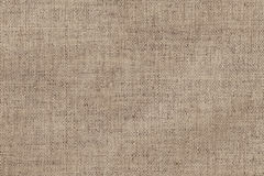 Artist's Unprimed Linen Canvas Coarse Crumpled Texture Sample Royalty Free Stock Photo