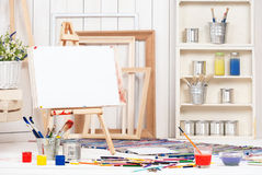 Artist's workshop Stock Photography