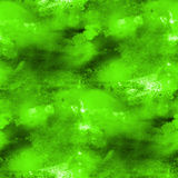 Artist seamless green cubism abstract art texture. Watercolor wallpaper background Stock Images