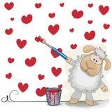 Artist Sheep Stock Photography