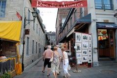 Artist street Stock Photo