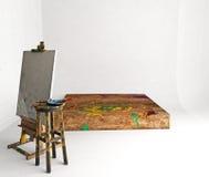 Artist studio Royalty Free Stock Image