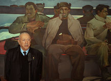 Artist Tair Salakhov. Tahir Salahov was born in 1928. The Soviet and Russian artist of the time recognized as a classic painting of the Soviet period. One of the Royalty Free Stock Photography