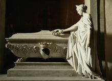 Artist tomb in Florence, Italy Royalty Free Stock Images