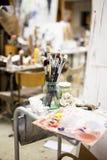 Artist Tools Stock Image