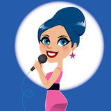 Artist Woman Singer Royalty Free Stock Image
