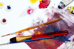 Artist Work Space Royalty Free Stock Images