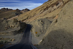 Artist& x27;s Drive, Death Valley Royalty Free Stock Photos