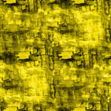 Artist yellow seamless cubism abstract art texture Stock Image