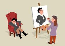 Artista ilustração royalty free