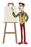 Artista Illustrazione Vettoriale