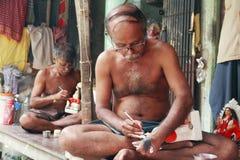 Artista da cerâmica de India Imagem de Stock