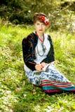Artista da mulher Imagem de Stock Royalty Free