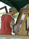 Artista de bosquejo Foto de archivo libre de regalías