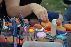 Artista de composição Foto de Stock